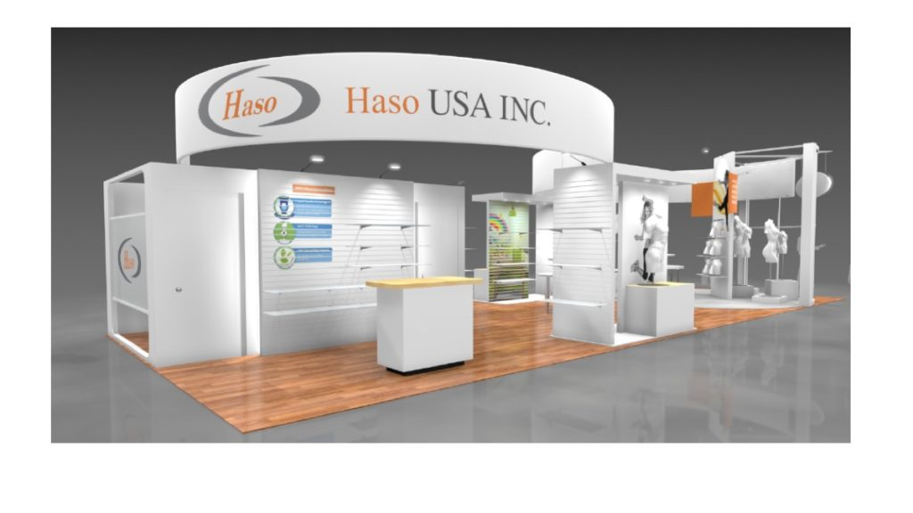Booth graphics and design management - Haso USA Inc