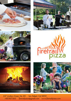 Mobile Pizza - promo postcard