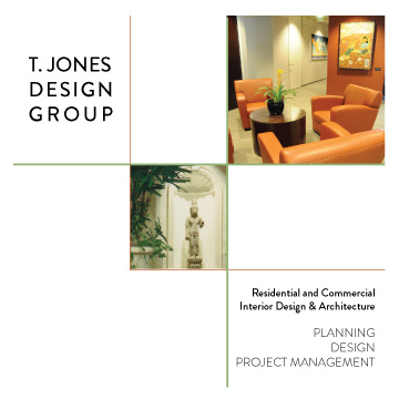 T Jones Interior Design - brochure